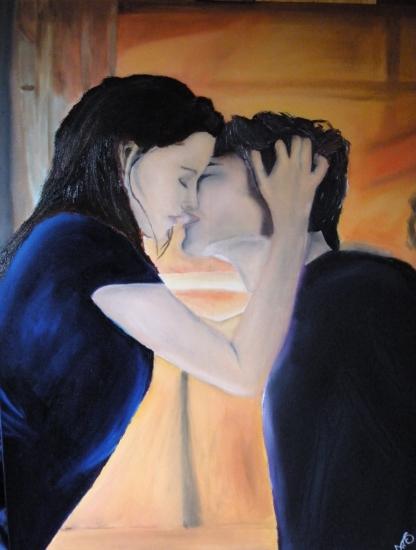Kristen Stewart, Robert Pattinson by Eva-Maria